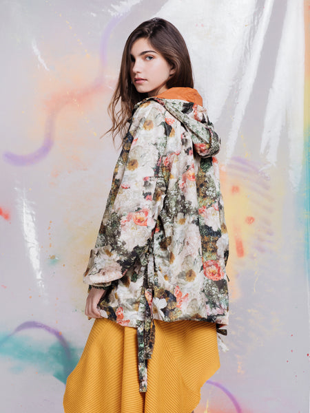 Alexandra Moura X Duffy Agasalho Flower Painting Windbreaker