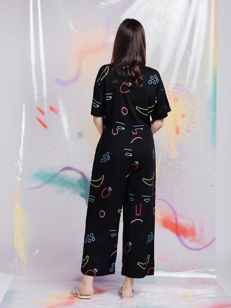 Lazy Oaf Feeling Fruity Jumpsuit