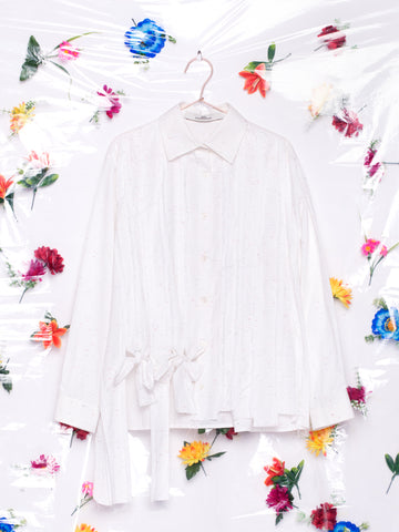 Alexandra Moura Nó white with Colour Speckles Shirt Made in Portugal