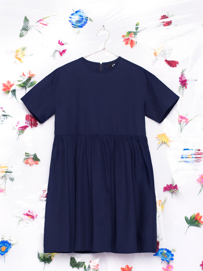 Lazy Oaf LO Sally Woven Navy Blue Dress Sailor