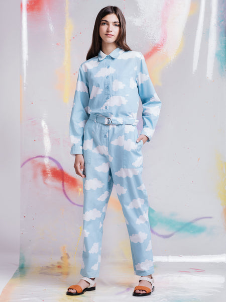 Lazy Oaf Head in the Clouds Jumpsuit