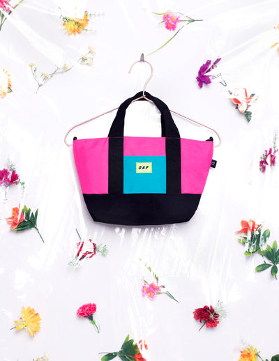 Lazy Oaf Labs Panel Bag 80s Neon
