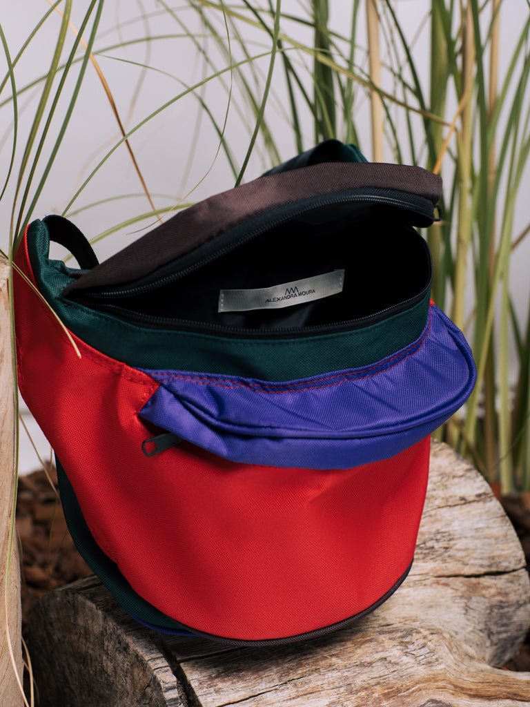 Alexandra Moura Oversized Multicoloured Fanny Pack