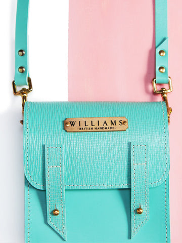 Williams Handmade Hope Mint Bag zoom