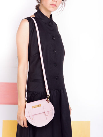 Williams Handmade Pixley Pink Bag model
