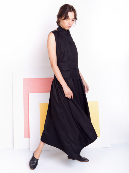 Alexandra Moura Black Shirt Dress