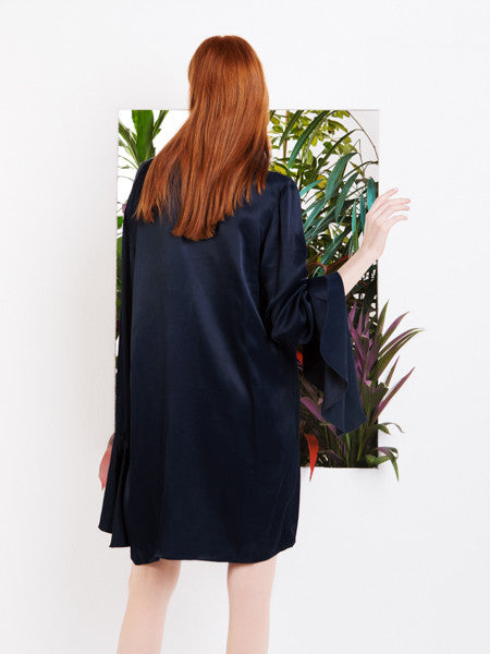 Pedro Neto Blue Shirt Dress