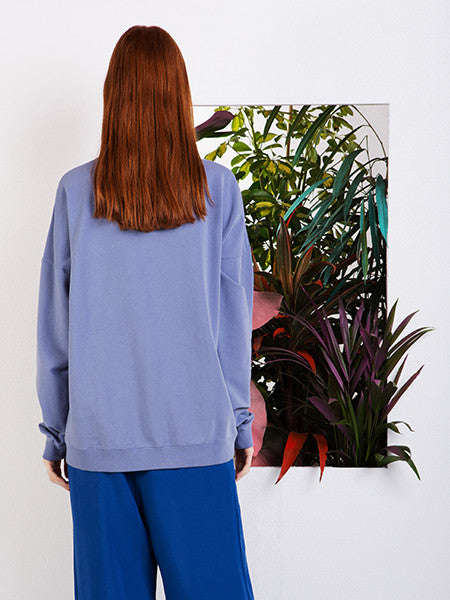 Alexandra Moura Embroidered Blue Jumper