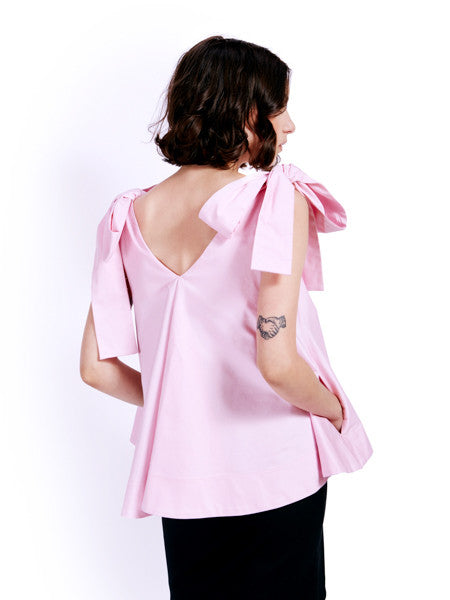 Soot Bow Swing Blush Top Back