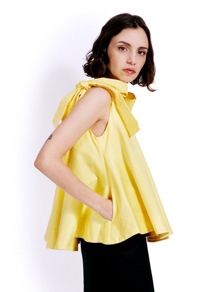Soot Bow Swing Yellow Top Side