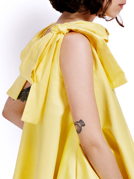 Soot Bow Swing Yellow Top Detail