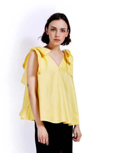 Soot Bow Swing Yellow Top Front