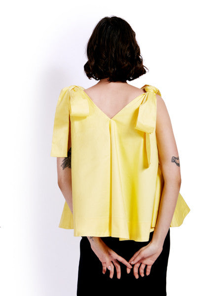 Soot Bow Swing Yellow Top Back