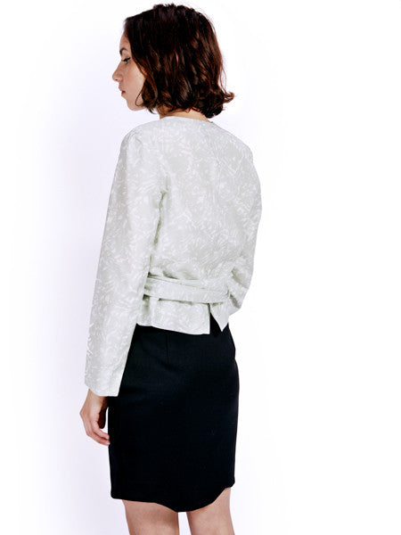 Ambali Barbara Wrap Shirt Back
