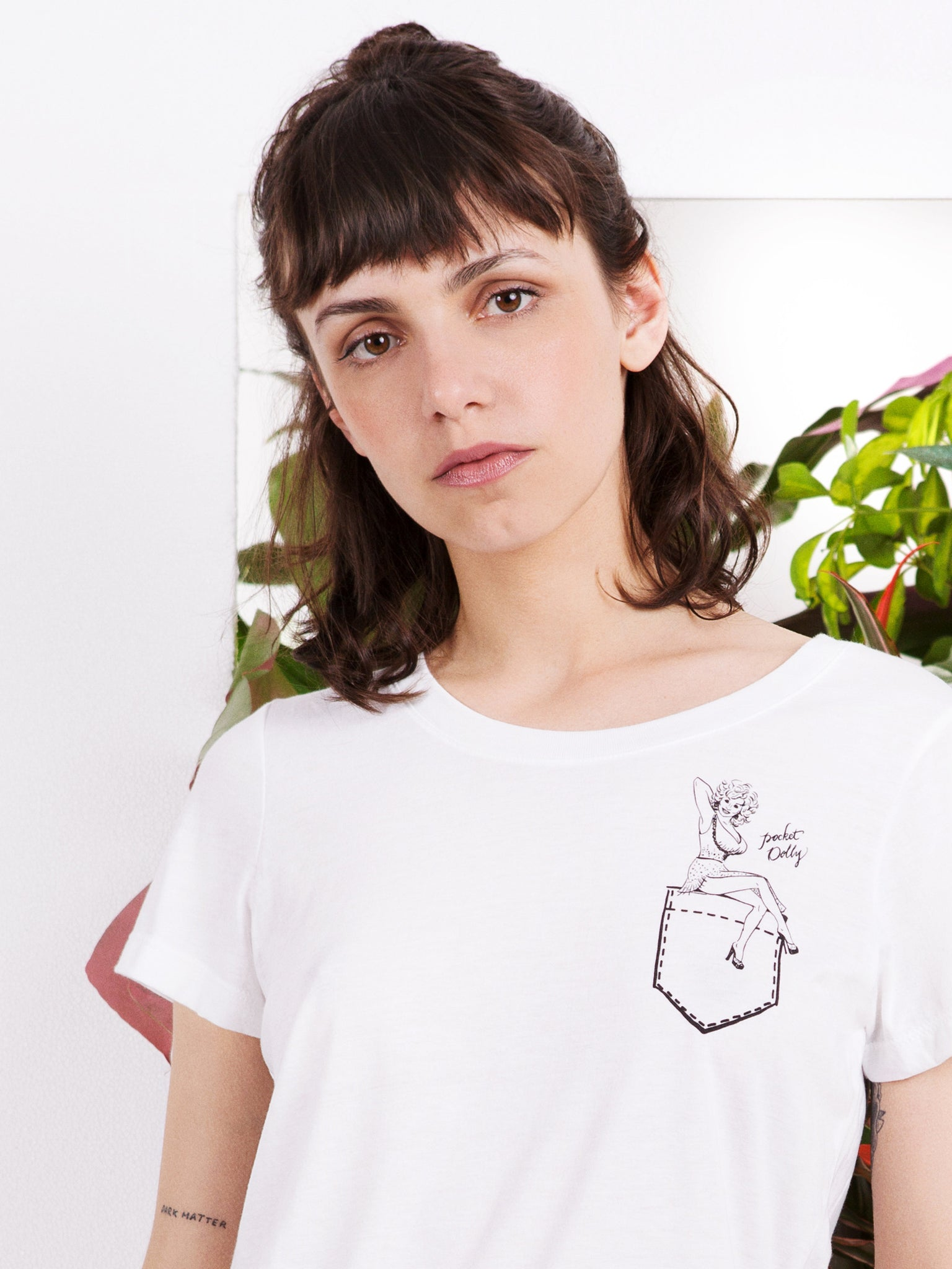 Rachel Antonoff Pocket Dolly T-shirt