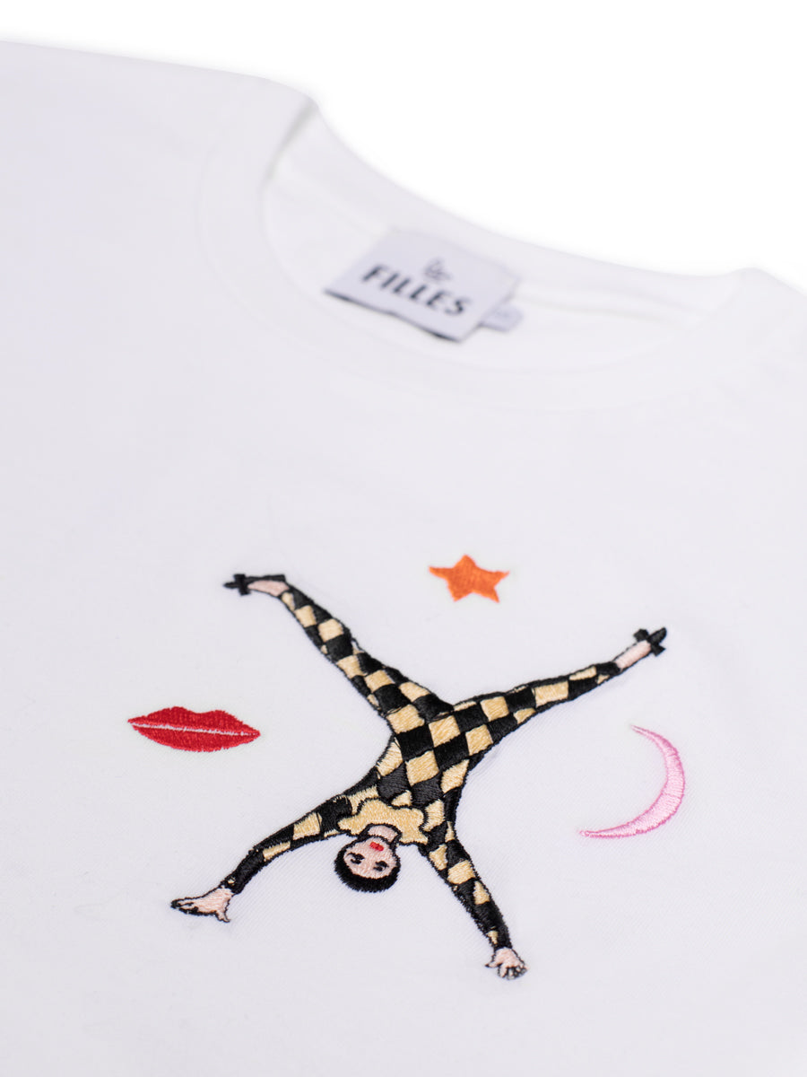Karen Mabon Exclusive Fair Wear Embroidery T-shirt