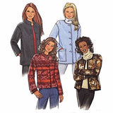 Misses Jacket Butterick B4293 Sewing Pattern 2004 Size L XL c2456