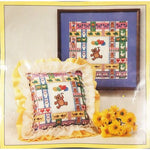 Bears Balloons Butterflies Counted Cross Stitch Kit 12 x 12 Vintage Sunset c2733