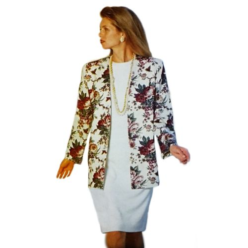 Misses Jacket Dress Butterick See & Sew 5763 Sewing Pattern Size 16-24 c2623