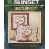 Sentimental Keepsake Needlepoint Kit 12 x 12 Vintage Sunset 6792 c2736