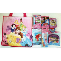 Disney Princesses Gift Pack Stickers Jump Rope Puzzle Playing Cards Bag D010