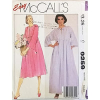 Misses Robe McCalls 9259 Sewing Pattern Vintage 1984 Size Small c2599