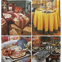Table Top Accessories Simplicity 5068 Sewing Pattern Show House 2005 c2464