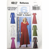 Misses Dress Butterick 4017 Sewing Pattern 2003 Size 14 16 18 c2454