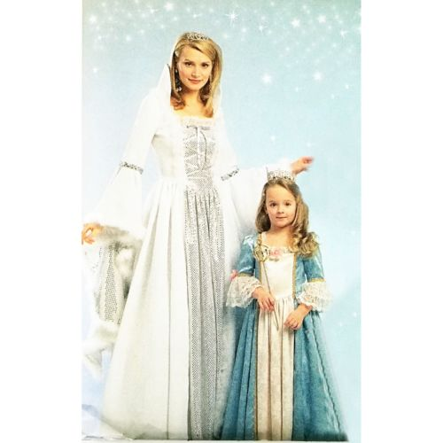 Misses Princess Costume McCalls M5731 Sewing Pattern 2008 Size S-XL c2700