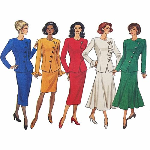 Misses Top Skirt Butterick 3157 Sewing Pattern Vintage 1993 Size 14-18 c2490