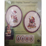 Hummel Peasant Girl Crewel Embroidery Kit 9x12 Paragon Vintage c2547