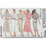 Misses Dress Top Skirt Butterick 4823 Sewing Pattern Vintage Size 12-14 c2407