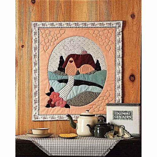 Country Cottage Quilt Pattern 21.5x25.5 Sewing Quilting Calico Hills Farm c2426