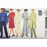 Misses Jacket Duster Skirt Pants Butterick 6269 Sewing Pattern Size 12-18 c2362