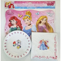 Disney Princess Birthday Party Pack Balloons Napkins Plates Straws Loot Bags D08