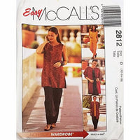 Misses Jacket Top Pants McCalls 2812 Sewing Pattern 2000 Size 12-16 c2372