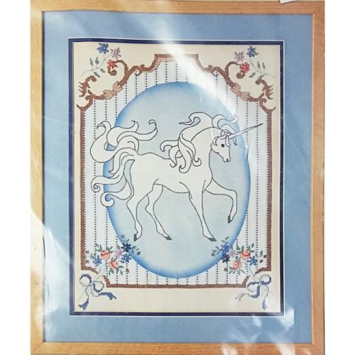 French Country Unicorn Counted Cross Stitch Kit 12 x 16 Something Special c2615