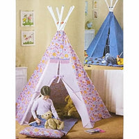Teepee and Mat Butterick B4251 Sewing Pattern 2004 Child c2216