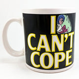 I Can't Cope Coffee Mug Cup 12oz Humor Vintage Russ k740
