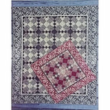 Square Dash Quilt Pattern Wall to King Sewing Quilting Above Par Quilts c2423