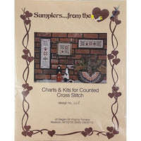 Country Quilt Sampler Counted Cross Stitch Pattern Samplers from the Heart c2342
