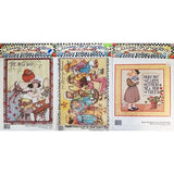 Cat Angel WEdding Holiday Lot of 6 Iron On Transfers Vintage Daisy Kingdom c2579
