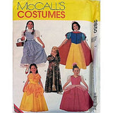 Girls Classic Character Costume McCalls 2850 Pattern 2000 Size 7 Halloween c810