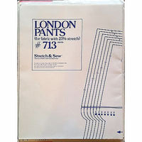 Misses London Pants Stretch & Sew 713 Pattern Vintage 1976 Ann Person c1123