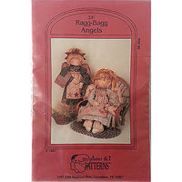 Ragg Bagg Angels Doll Pattern 24 inch Primitive Raggedy My Sister and I c154