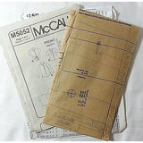 Misses Petite Shirt Two Lengths McCalls M5052 Pattern Size AA 6-12 Sewing c526