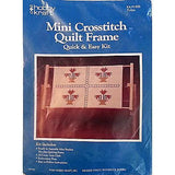 Tulips Mini Crosstitch Quilt Frame Counted Cross Stitch Kit Hobby Kraft c894
