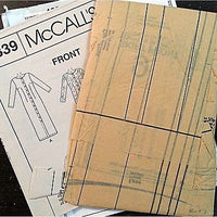 Misses Dress Slipdress Two Lengths Pattern McCalls 9339 1998 Size 8 10 12 c1063