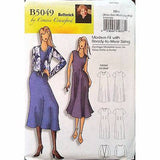 Misses Shift Dress Blouse Butterick B5049 Pattern 2007 Crawford Size 4-16 c1092