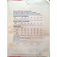 Misses London Pants Stretch & Sew 712 Pattern Vintage 1976 Ann Person c1122